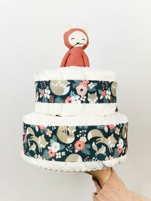 ampliar imagen de tarta de pañales fox