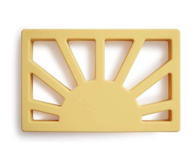 ampliar imagen de mordedor sol mushie amarillo