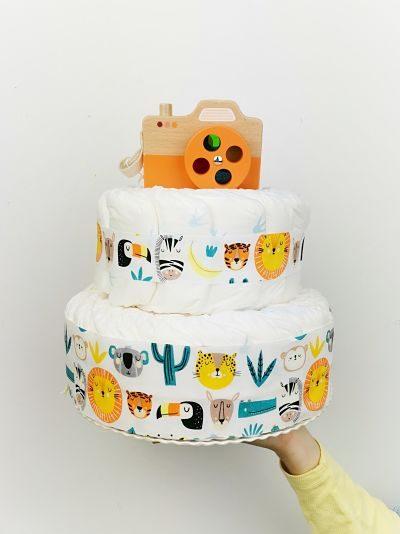 ampliar imagen de tarta de pañales