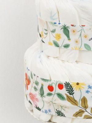 ampliar tarta de pañales primavera detalle 2