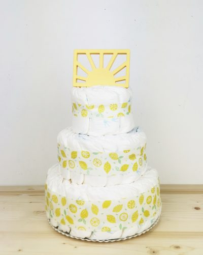 abrir imagen tarta de pañales limonada